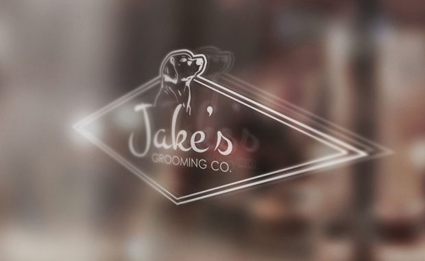 cover progetto logo Jake's Grooming