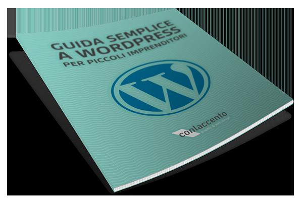 copertina Guida semplice WordPress per piccoli imprenditori
