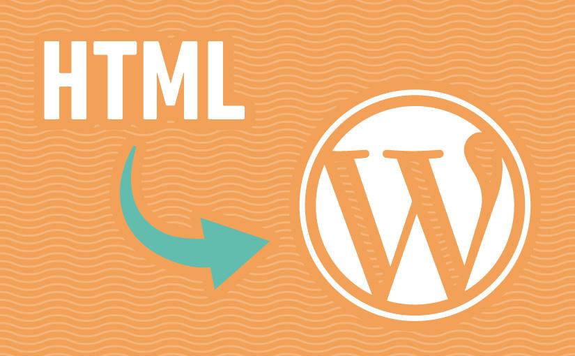 importare contenuti da sito Html a WordPress