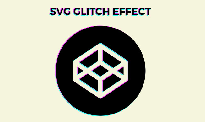 SVG Glitch effect